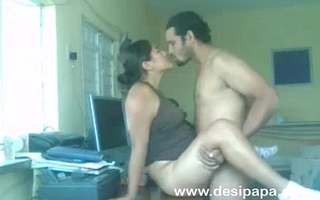 indian clumsy couple nawaz and hira lovemaking on a table