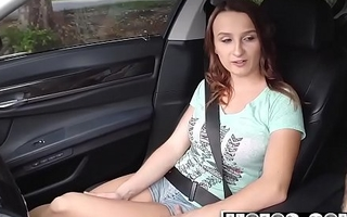 Mofos - Unvisited Teens - Indiana Cutie Banged in the Motor vehicle starring  Sadie Leigh