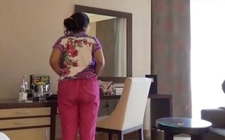 Shy Indian Bhabhi In Hotel Room With Her Newly Unavailable Husband Honeymoon
