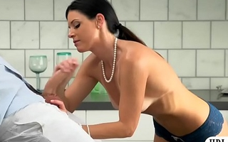 Dazzling milf India Summer wet crack rammed
