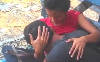 Indian Couple Lover In Public Park Shorn - Wowmoyback