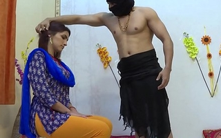 Rough sex with indian Married slut in the ashram